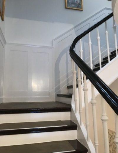 Treppenhaus Anstrich und Lackierung
