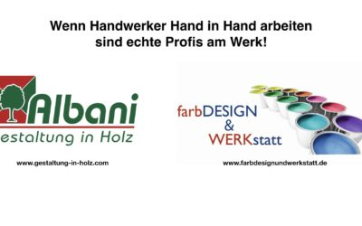 Handwerker Hand in Hand